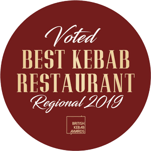 Voted Best Kebab Restaurant Regional 2019