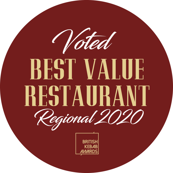 Voted Best Value Restaurant 2020